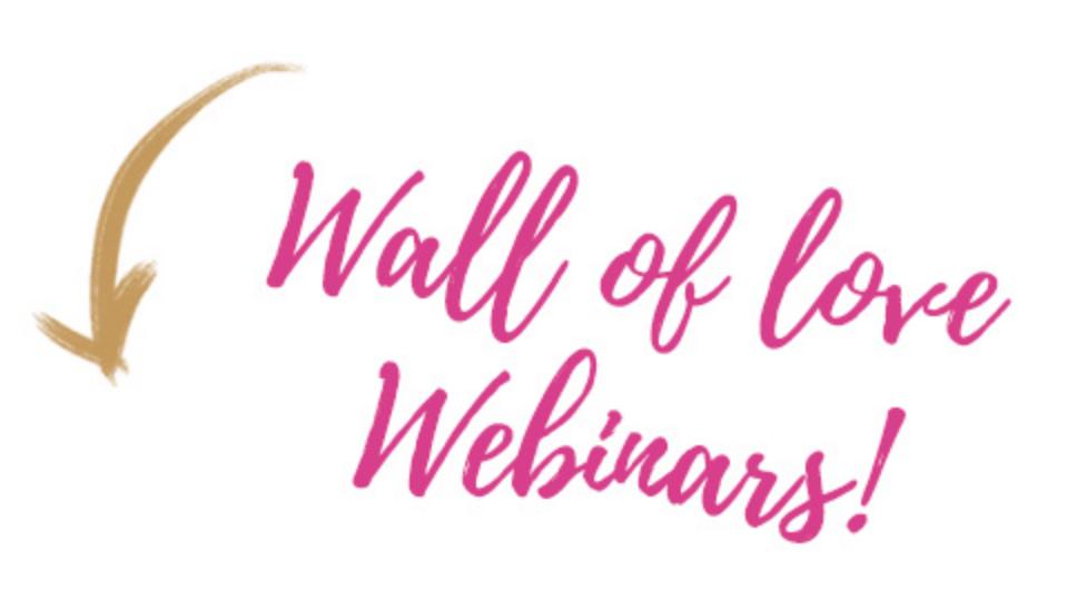 Wall of love webinars - van Klik naar Klant