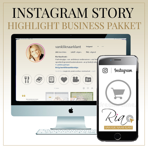 Instagram Highlight Business Pakket