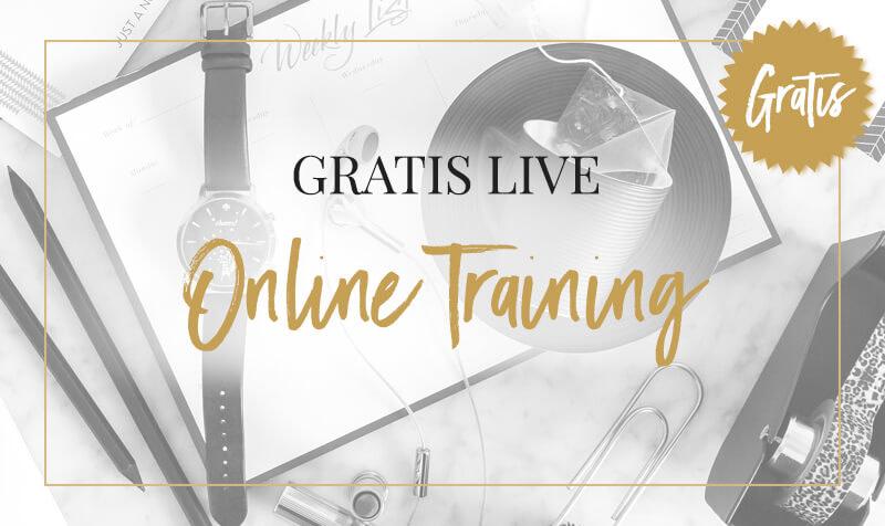 gratis live online training